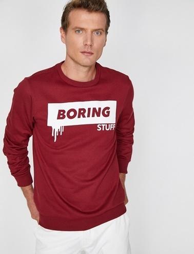 Koton Sweatshirt Bordo